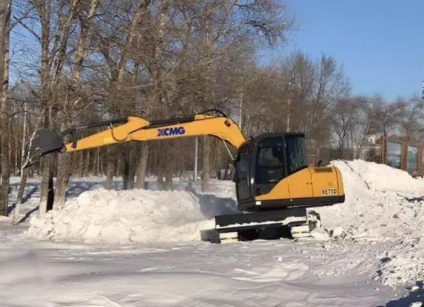 挖掘机冬季保养秘籍:只要这7步挖机安全过冬!