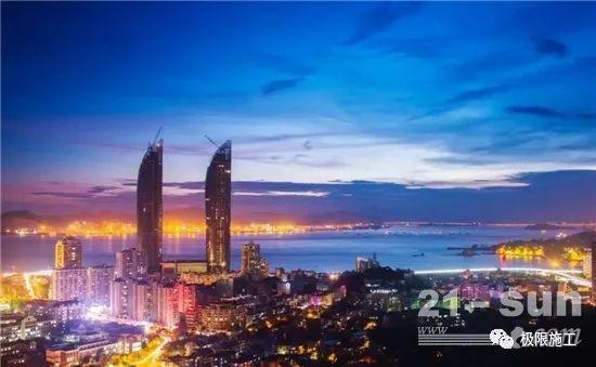 55小时,2.5万方!三一成套混凝土设备助力上海最高双子塔