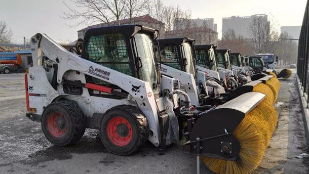 济南将迎今冬最强雨雪,山猫扫雪车助力城管系统迎雪备战