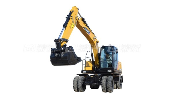 三一SY155W中型挖掘机产品图片
