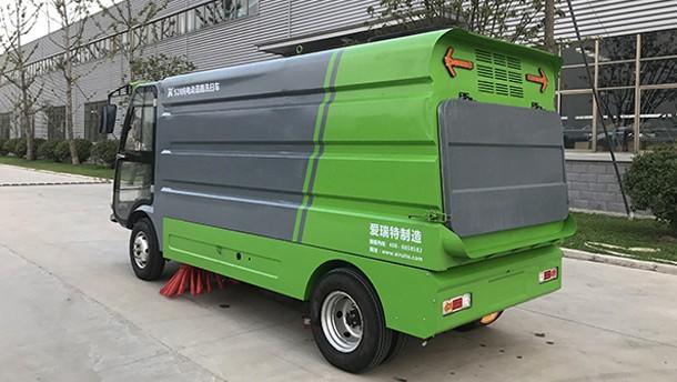 瑞清S28纯电动道路扫洗车