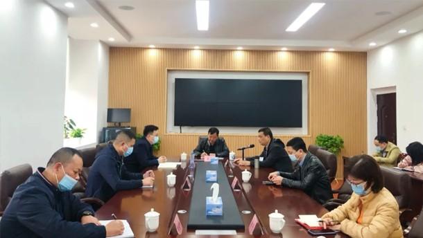 市城管局党组成员吴军赴环卫集团开展调研活动