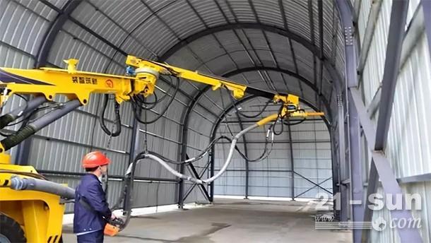 XZMG113锚杆安装台车产品施工