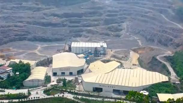 南方路机V7制砂设备应用于重庆顺志矿业