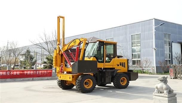 康豐HWH-920公路護欄打樁機