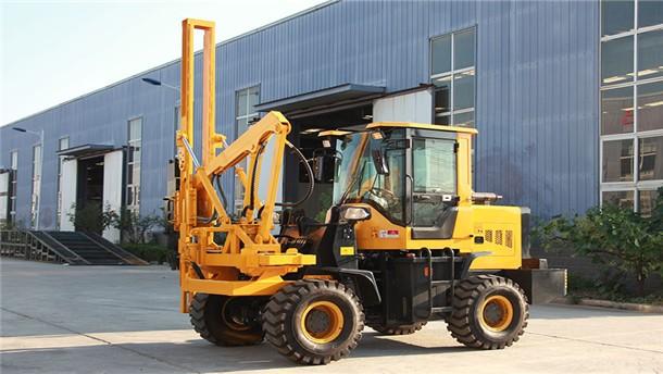 康豐HWH-930裝載式護欄打樁機