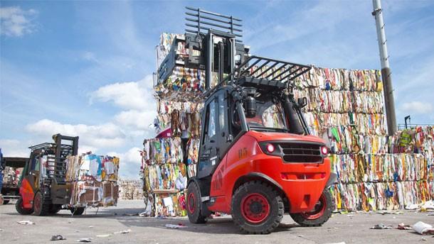 林德服务与纸业行业中的物料搬运