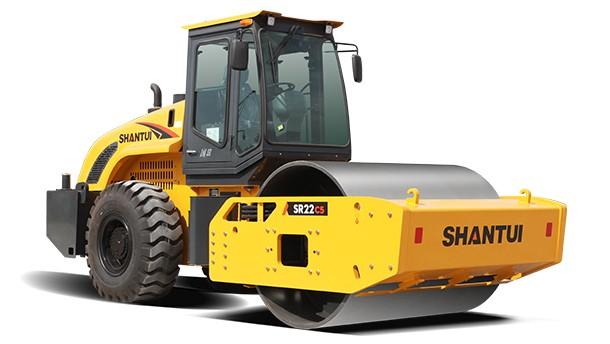 山推SR22-C5單鋼輪壓路機高清圖片