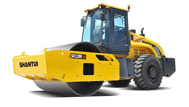 山推SR22M-C5單鋼輪壓路機高清圖片