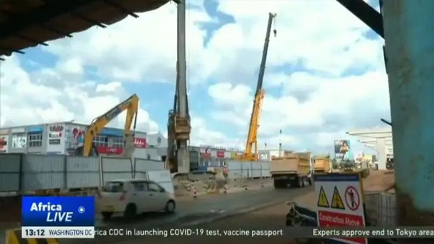 CGTN Africa报道:徐工助力非洲当地基础建设