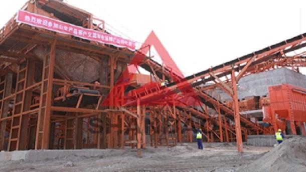 山宝破碎机河南郑州800吨/小时石灰石碎石方案