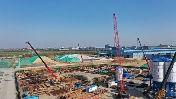 """四个""""首创""""、六个""""之最"""",常泰长江大桥建设全面加速"""