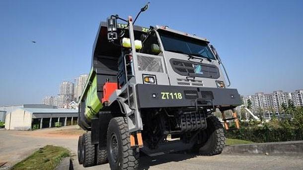 中联重科矿用自卸车ZT118