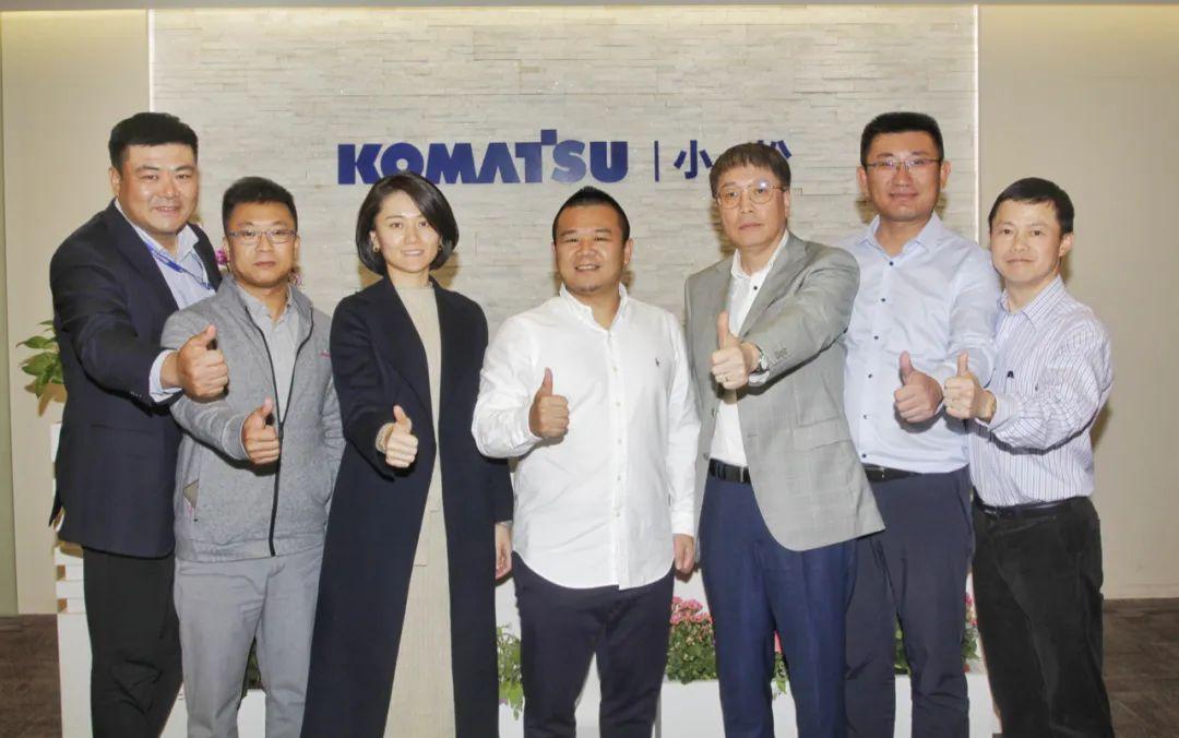 广东东升实业集团领导一行到访小松中国
