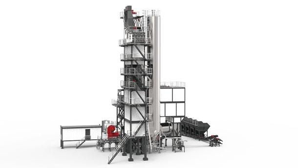 铁拓GLB系列沥青搅拌设备