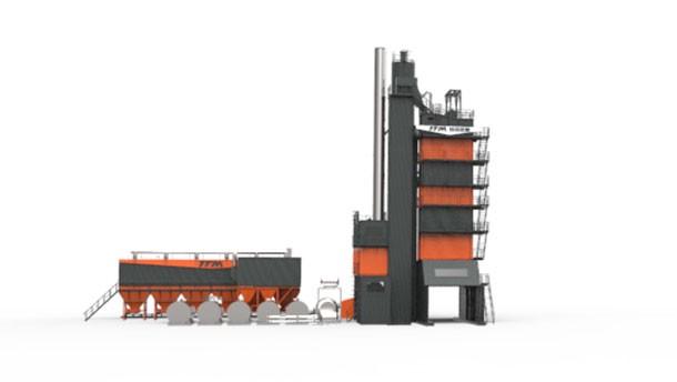 铁拓GLBE系列沥青搅拌设备