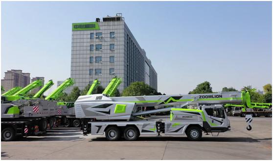 引领行业实现碳达峰碳中和 中联重科小绿奇迹军团打造环保标杆