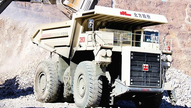 NTE260電動輪礦用自卸車