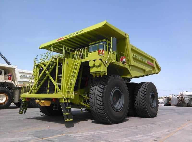 NTE330電動輪礦用自卸車