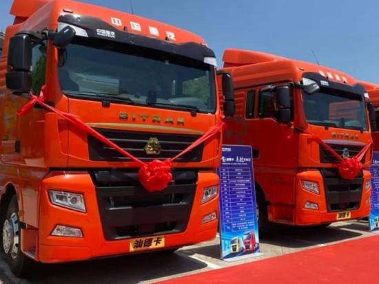 2021版中国重汽汕德卡牵引车,来啦!