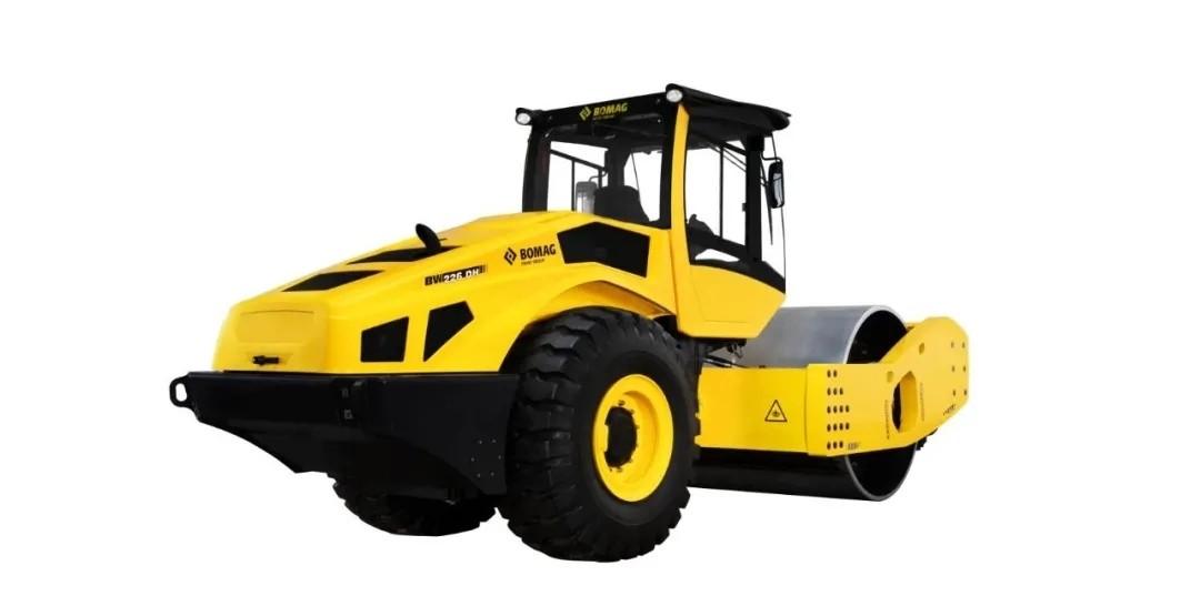 寶馬格新品BW226DH-5單鋼輪壓路機