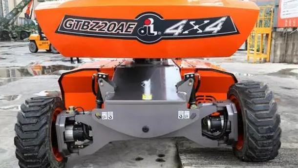 浙江鼎力GTBZ20AE自行走曲臂式高空作業平臺(電池驅動)