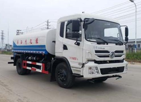 東風專底新款12噸灑水車