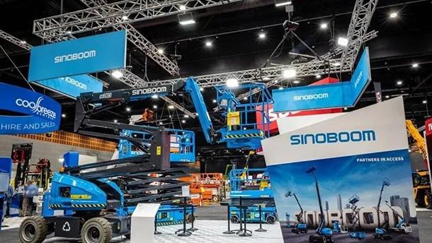 星邦智能高空作業平臺驚艷亮相澳洲HIRE21展會
