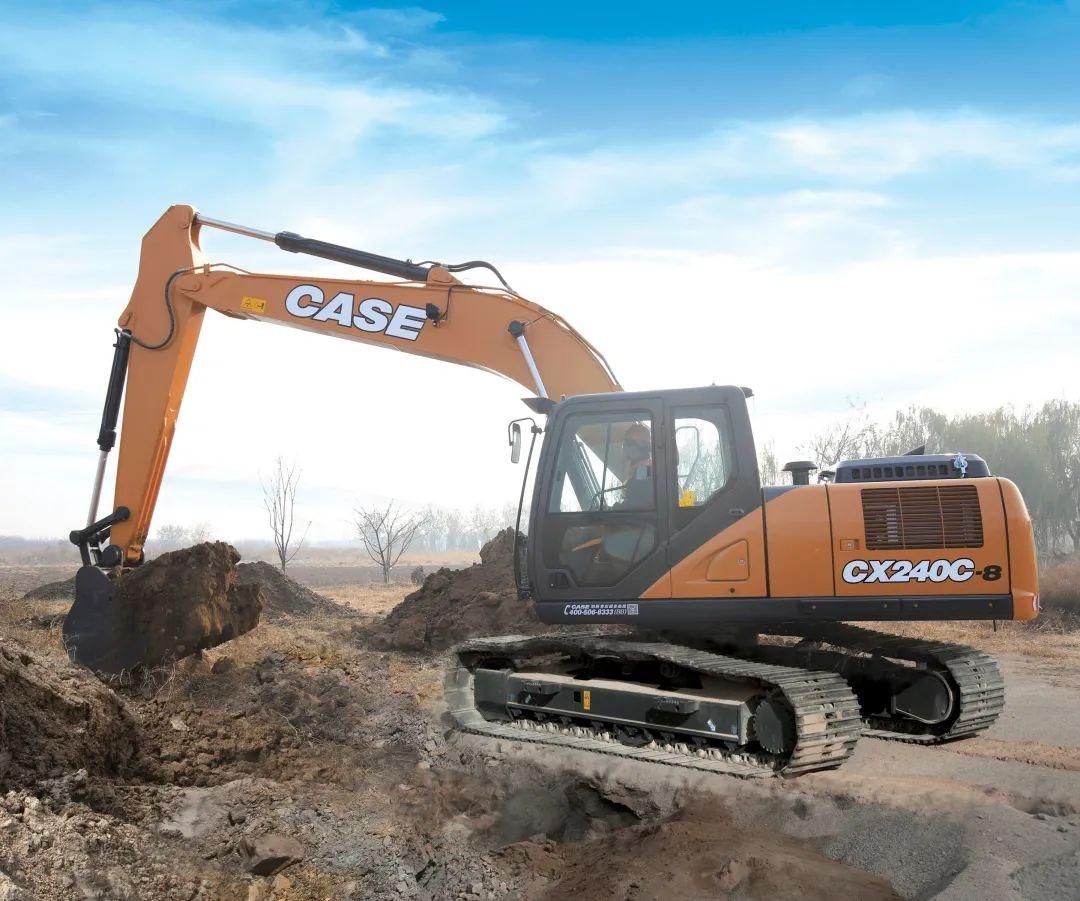 CX240C-8一如既往的扎實可靠, 各種租賃場景都能勝任,開不爛!