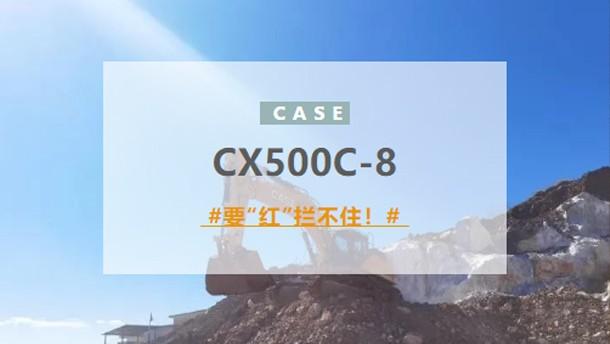 """凱斯:CX500C-8:要""""紅""""攔不住!"""
