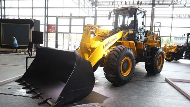 柳工亮相2021长沙国际工程机械展
