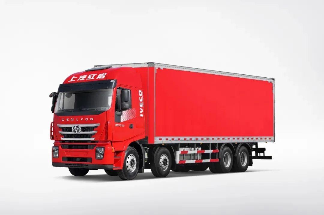 红岩杰狮C500载货车