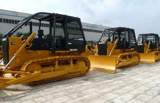 山推全面升级SD16-F系列产品扩大市场份额