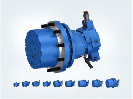 全新GFT 8000减速机系列 适用于多种静压行走驱动设备