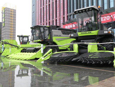 中联重科农业机械发布4.0系列新品