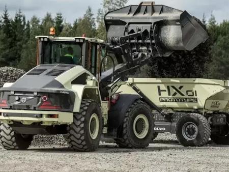 沃尔沃建筑设备电动装载车荣获品质创新奖