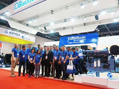 博杜安品牌亮相2017中东电力展