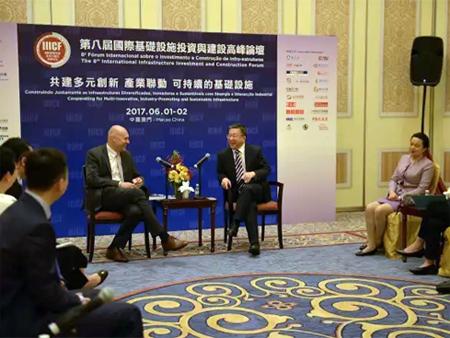 沃尔沃建筑设备与中国对外承包工程商会举行高层会晤