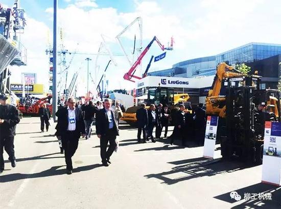 聚焦国际市场 中国工程机械在俄罗斯