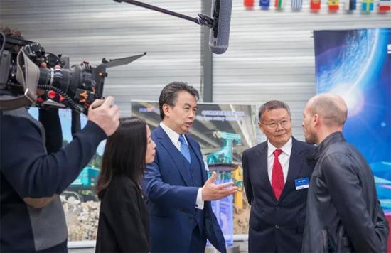 山河智能隆重举行2017年欧洲经销商大会