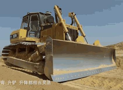 SEM816推土机:好使!平整沙漠的利器