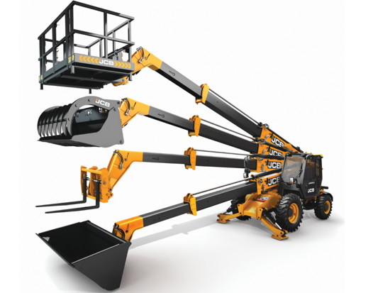 JCB Loadall伸缩臂叉装车在畜牧场运营上的应用
