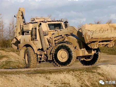 JCB军用高速两头忙曾救了美国大兵!