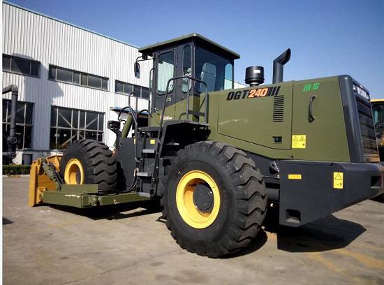 德工DGT240轮式推土机引爆市场