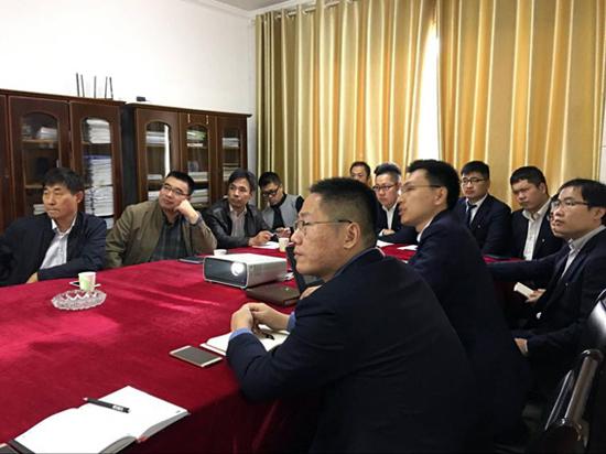 中国重汽集团公司纪委书记刘家勇调研湖北市场