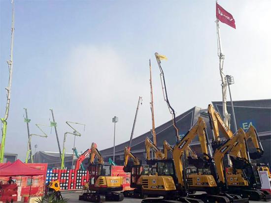 2017第四届中国(长沙)国际工程机械暨配套件博览会开幕