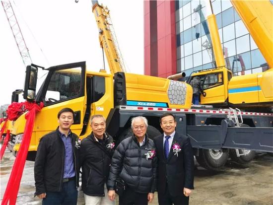 厉害!徐工G1代起重机产品踏上奔赴香港的征程!