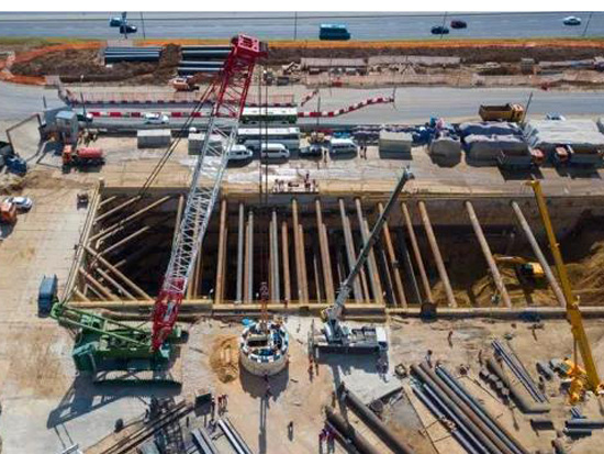 铁建重工盾构机助力莫斯科地铁建设
