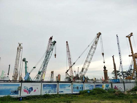 盾安重工全回转钻机 为深圳恒大中心基坑支护工程目保驾护航