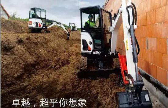 小型土方施工商机广阔 微挖创富正当其时